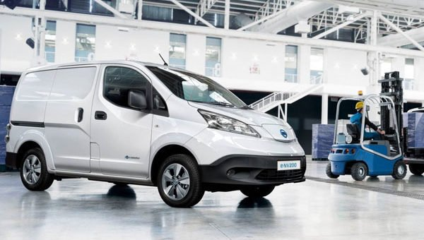 electric vans for companies